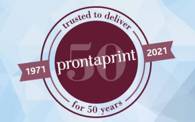Prontaprint 2021: providing Warwickshire with local print, design and branding